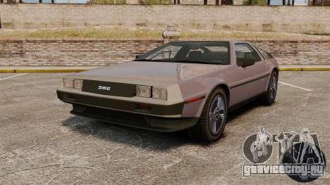Спидометр DeLorean DMC-12 для GTA 4