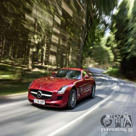 Загрузочные экраны Mercedes-Benz для GTA 4 пятый скриншот