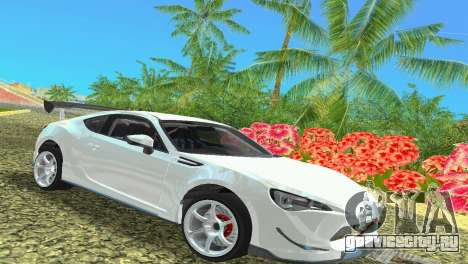 Subaru BRZ Type 4 для GTA Vice City