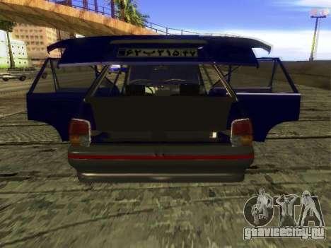 Kia Pride Hatchback для GTA San Andreas вид сбоку