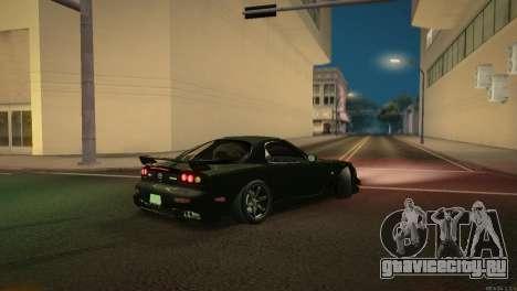 Mazda RX-7 STANCENATION для GTA San Andreas вид сверху