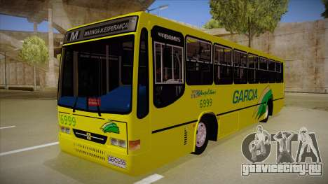 Busscar Urbanus SS Volvo B10 M garcia для GTA San Andreas