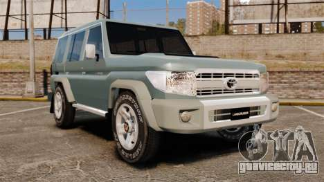 Toyota Land Cruiser 76 Wagon GXL 2010 для GTA 4