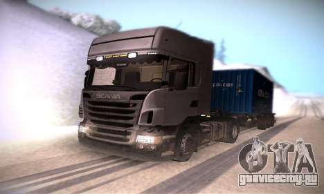 Scania R500 Topline для GTA San Andreas