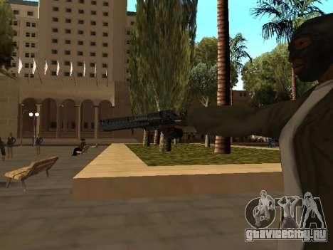 WeaponStyles для GTA San Andreas девятый скриншот