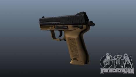 Пистолет HK45C v3 для GTA 4 второй скриншот