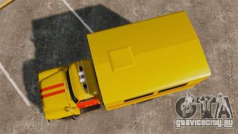 ГАЗ-52 Аварийная для GTA 4 вид справа