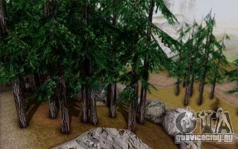 Новая растительность 2013 для GTA San Andreas шестой скриншот