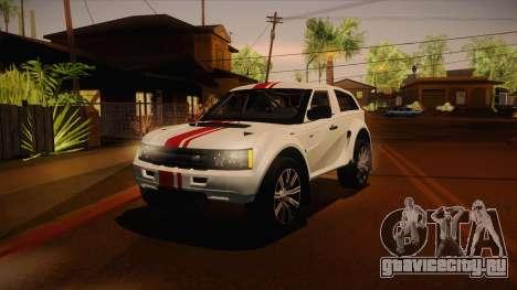 Bowler EXR S 2012 IVF + АПП для GTA San Andreas