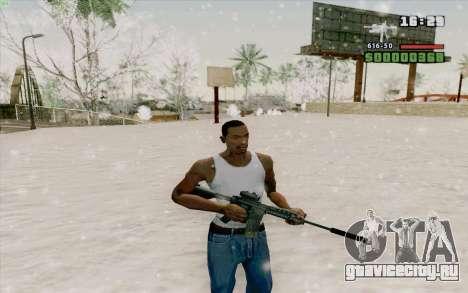 М4А1 для GTA San Andreas шестой скриншот