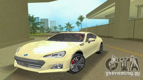 Subaru BRZ Type 1 для GTA Vice City