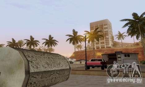 ENBSeries for low and medium PC для GTA San Andreas четвёртый скриншот