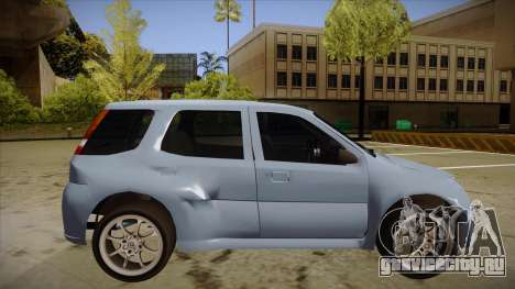Suzuki Ignis для GTA San Andreas вид сзади слева