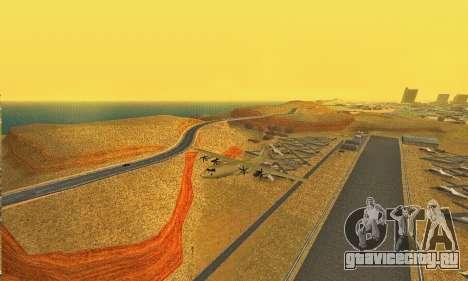 Hercules GTA V для GTA San Andreas вид справа