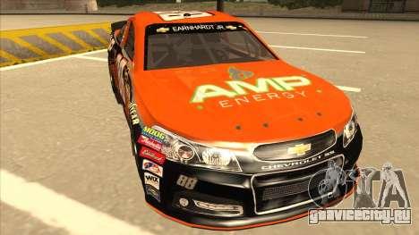 Chevrolet SS NASCAR No. 88 Amp Energy для GTA San Andreas вид слева
