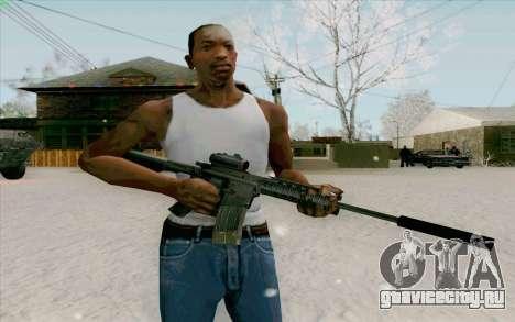 М4А1 для GTA San Andreas второй скриншот