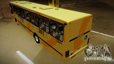 Busscar Urbanuss Ecoss MB OF 1722 M BHBUS для GTA San Andreas вид сзади