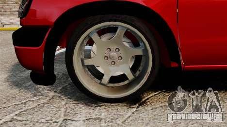 Nissan Frontier D22 для GTA 4 вид сзади