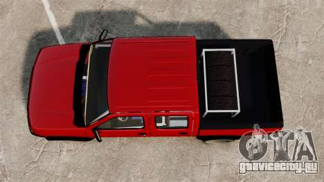 Nissan Frontier D22 для GTA 4 вид справа