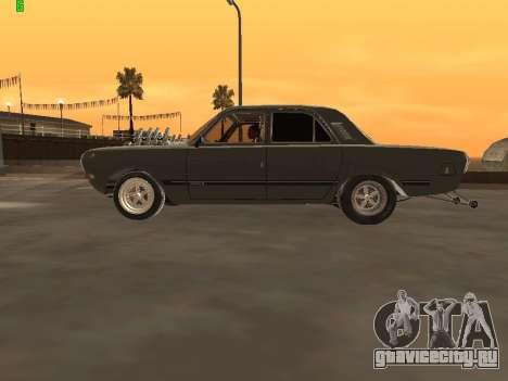 Газ 24 Drag Edition для GTA San Andreas вид слева
