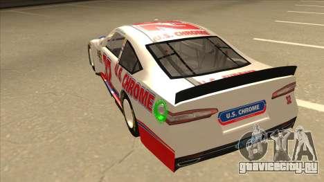 Ford Fusion NASCAR No. 32 U.S. Chrome для GTA San Andreas вид сзади