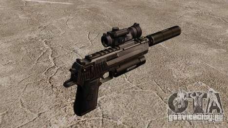 Пистолет Desert Eagle (тактический) для GTA 4 второй скриншот