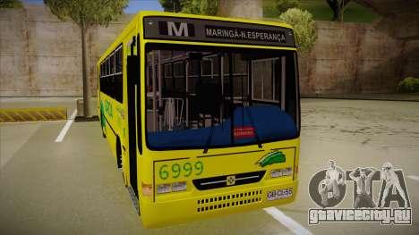 Busscar Urbanus SS Volvo B10 M garcia для GTA San Andreas вид слева