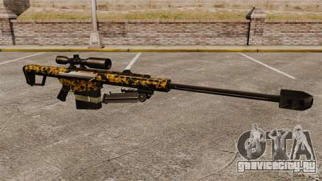 Снайперская винтовка Barrett M82 v12 для GTA 4