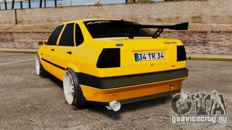 Fiat Tempra TR KeremAkca Edit для GTA 4 вид сзади слева