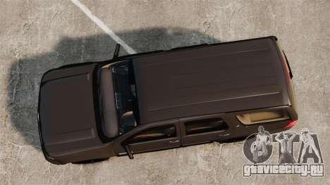 Chevrolet Tahoe Slicktop [ELS] v2 для GTA 4 вид справа