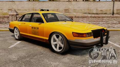 Taxi с новыми дисками для GTA 4