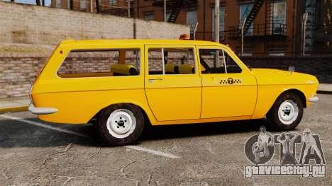 ГАЗ-24-02 Волга Такси для GTA 4 вид слева