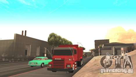 Scania 112HW для GTA San Andreas вид справа
