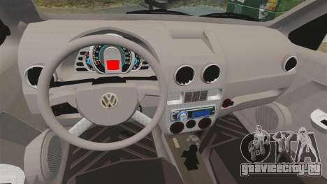Volkswagen Gol G4 BBS для GTA 4 вид изнутри