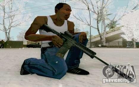 М4А1 для GTA San Andreas третий скриншот