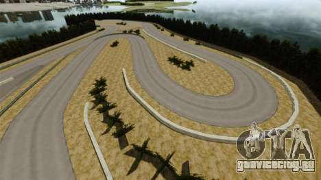 Локация Sportland Yamanashi для GTA 4 четвёртый скриншот