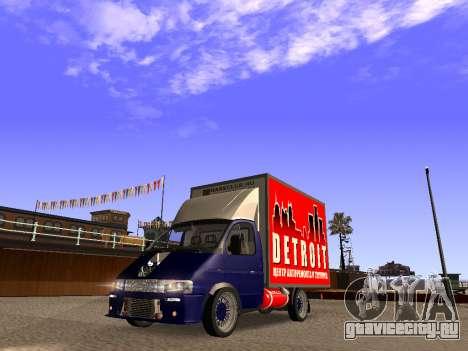 ГАЗ 2310 Соболь LT для GTA San Andreas