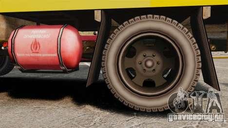 ГАЗ-52 Аварийная для GTA 4 вид сзади