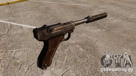 Пистолет Parabellum v2 для GTA 4 второй скриншот