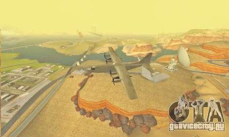 Hercules GTA V для GTA San Andreas вид изнутри