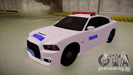 Dodge Charger SRT8 Policija для GTA San Andreas