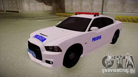 Dodge Charger SRT8 Policija для GTA San Andreas