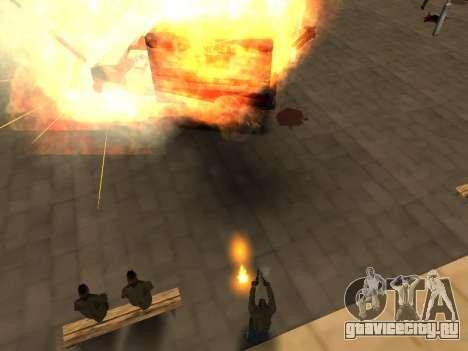WeaponStyles для GTA San Andreas восьмой скриншот