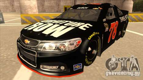 Chevrolet SS NASCAR No. 78 Furniture Row для GTA San Andreas