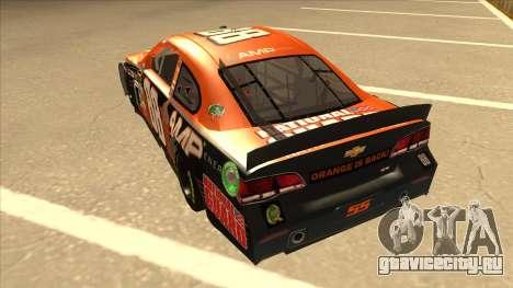 Chevrolet SS NASCAR No. 88 Amp Energy для GTA San Andreas вид сзади