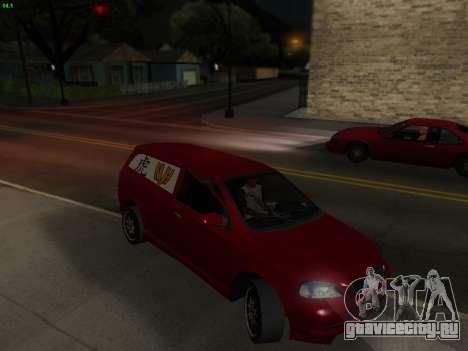 Opel Astra G Caravan Tuning для GTA San Andreas вид справа