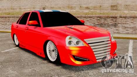 Lada Priora Cuba для GTA 4