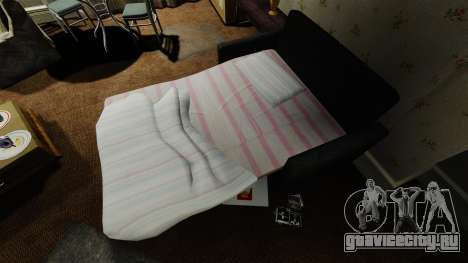 Новый диван во второй квартире для GTA 4