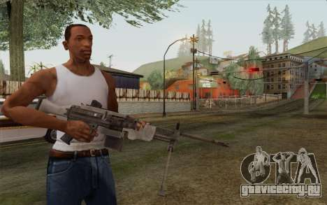 Военный пулемет для GTA San Andreas