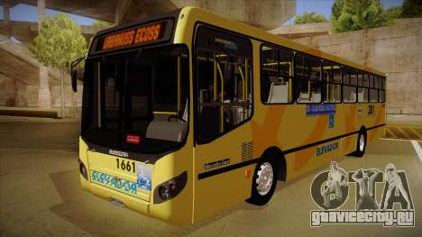 Busscar Urbanuss Ecoss MB OF 1722 M BHBUS для GTA San Andreas